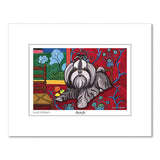 Shih Tzu Muttisse Matted Print