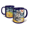 Schnauzer Starry Night Mug