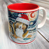 Shetland Sheepdog Holiday Starry Night Mug