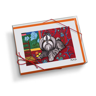 Shih Tzu Muttisse Notecard