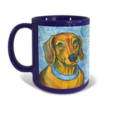 Dachshund Van Growl Portrait Mug