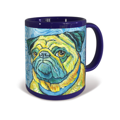 Pug Van Growl Portrait Mug