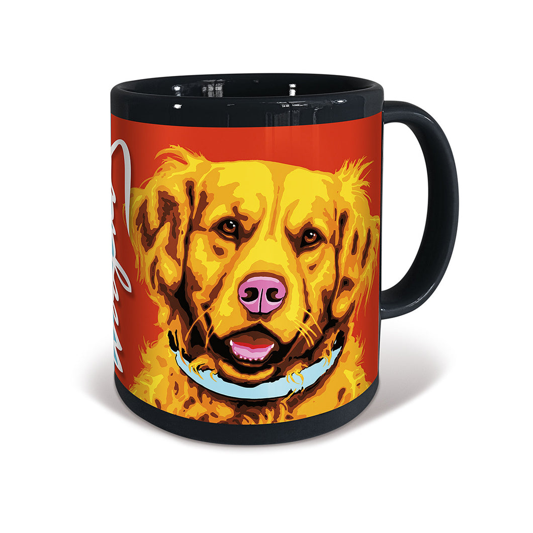 Golden Retriever Woofhol Mug