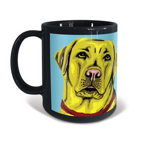 Labrador (yellow) Mug — Andy Warhol