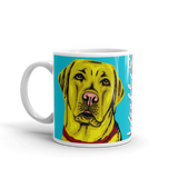 BUILD YOUR OWN ART COLLECTION — YELLOW LABRADOR MUGS