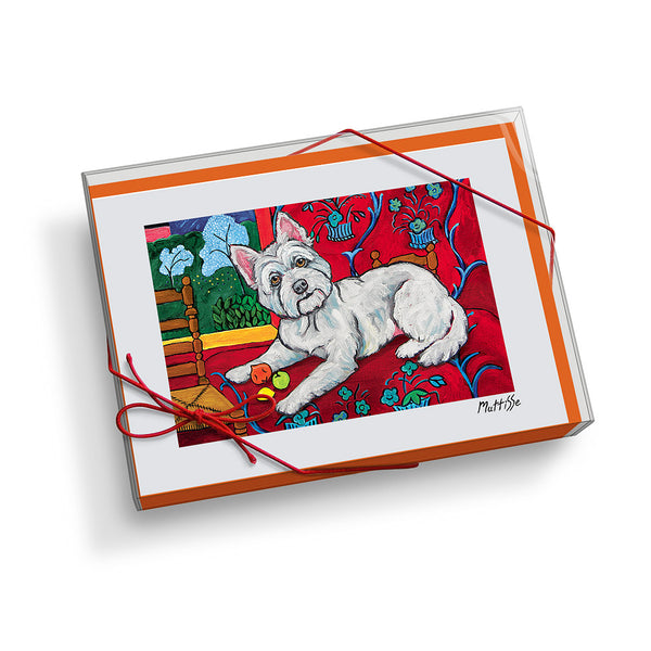 West Highland Terrier Muttisse Notecard Set