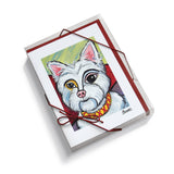West Highland Terrier Pawcasso Notecard Set