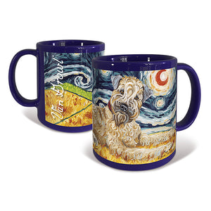 Wheaten Terrier Starry Night Mug