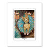 Yorkshire Terrier Dogas Matted Print