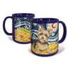 Yorkie Starry Night Mug