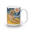Rhodesian Ridgeback STARRY NIGHT Mug-15oz