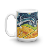 Wheaten Terrier STARRY NIGHT Mug-15oz