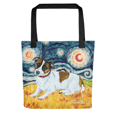 Jack Russell Terrier STARRY NIGHT Tote