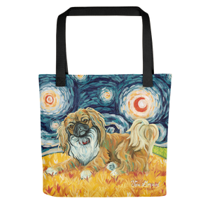 Pekingese STARRY NIGHT Tote