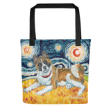 Akita STARRY NIGHT Tote