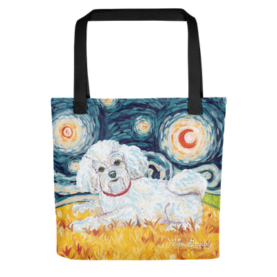 Bichon STARRY NIGHT Tote
