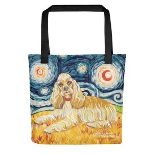 Cocker Spaniel STARRY NIGHT Tote