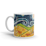 Great Dane (cropped) STARRY NIGHT Mug-15oz