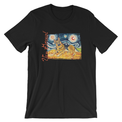 German Shepard STARRY NIGHT T-Shirt