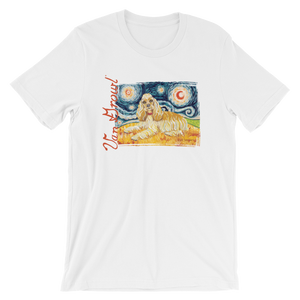 Cocker Spaniel STARRY NIGHT T-Shirt