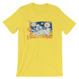 Poodle  (Standard - white)  STARRY NIGHT T-Shirt