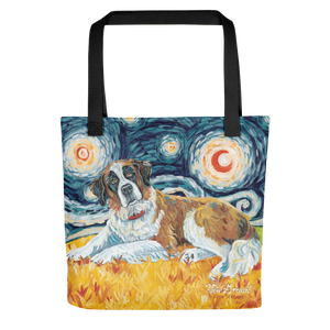 Saint Bernard STARRY NIGHT Tote