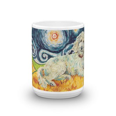 Doodle (cream) STARRY NIGHT Mug-15oz