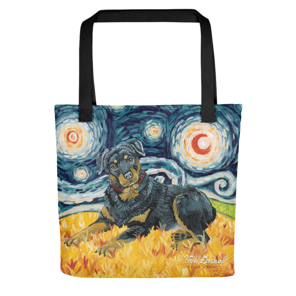 Rottweiler STARRY NIGHT Tote