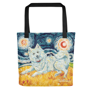 American Eskimo STARRY NIGHT Tote