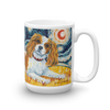 Cavalier King Charles (blenheim) STARRY NIGHT Mug-15oz