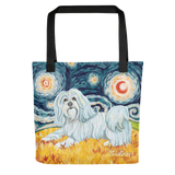Havanese STARRY NIGHT Tote