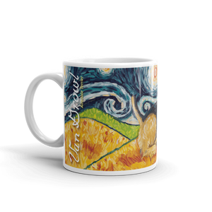 Airedale Terrier STARRY NIGHT Mug-15oz