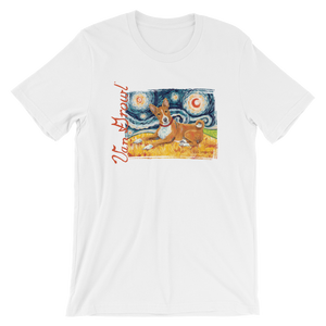 Basenji STARRY NIGHT T-Shirt
