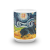Doberman (uncropped) STARRY NIGHT Mug-15oz