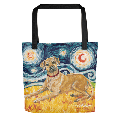Rhodesian Ridgeback STARRY NIGHT Tote