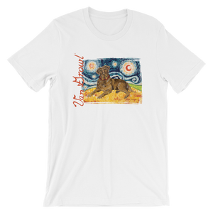 Labrador Retriever (chocolate) STARRY NIGHT T-Shirt