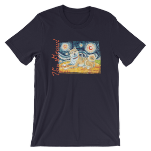 Shiba Inu (cream) STARRY NIGHT T-Shirt