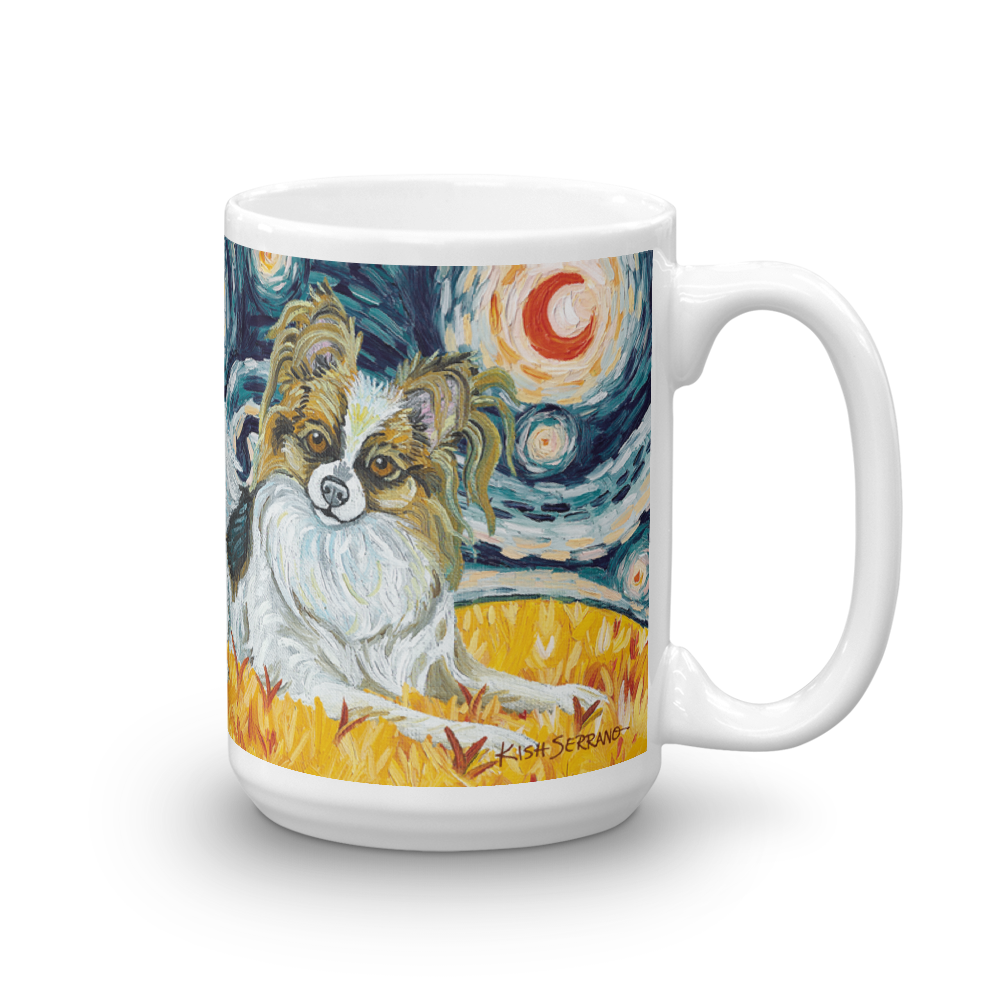 Papillon STARRY NIGHT Mug-15oz