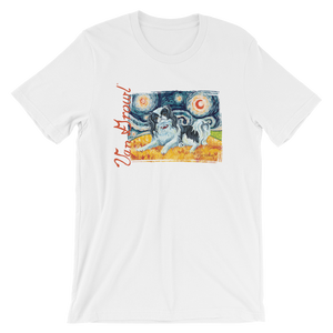 Japanese Chin STARRY NIGHT T-Shirt
