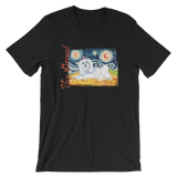 Maltese (longhaired) STARRY NIGHT T-Shirt
