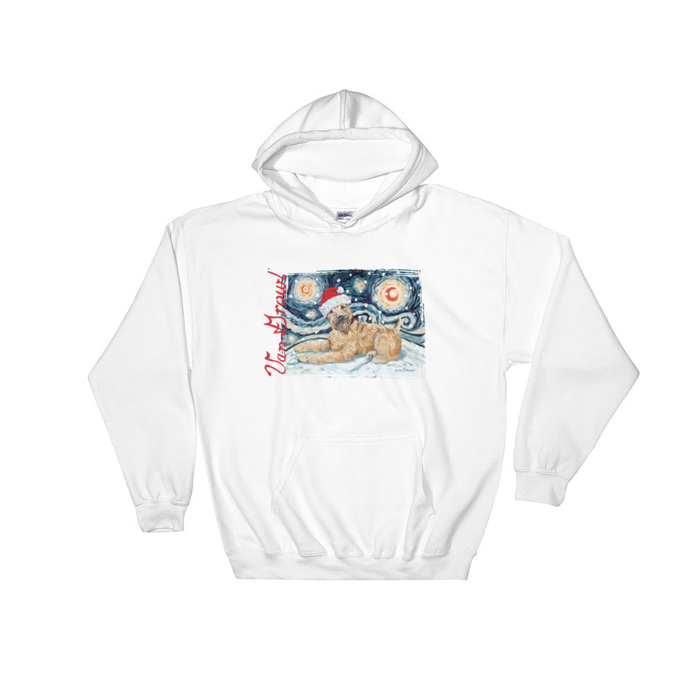 Wheater Terrier Snowy Night Hoodie