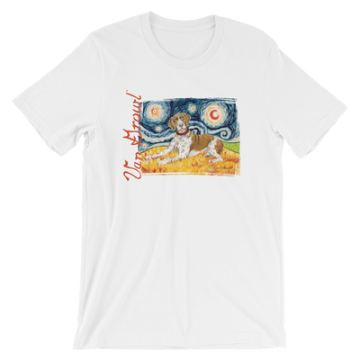 German Short Haired Pointer STARRY NIGHT T-Shirt