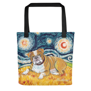 Bulldog STARRY NIGHT Tote
