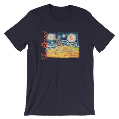 Great Dane (cropped) STARRY NIGHT T-Shirt