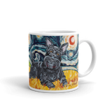Scottish Terrier STARRY NIGHT Mug-15oz
