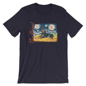 Doberman (uncropped) STARRY NIGHT T-Shirt