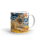 Shar Pei STARRY NIGHT Mug-15oz