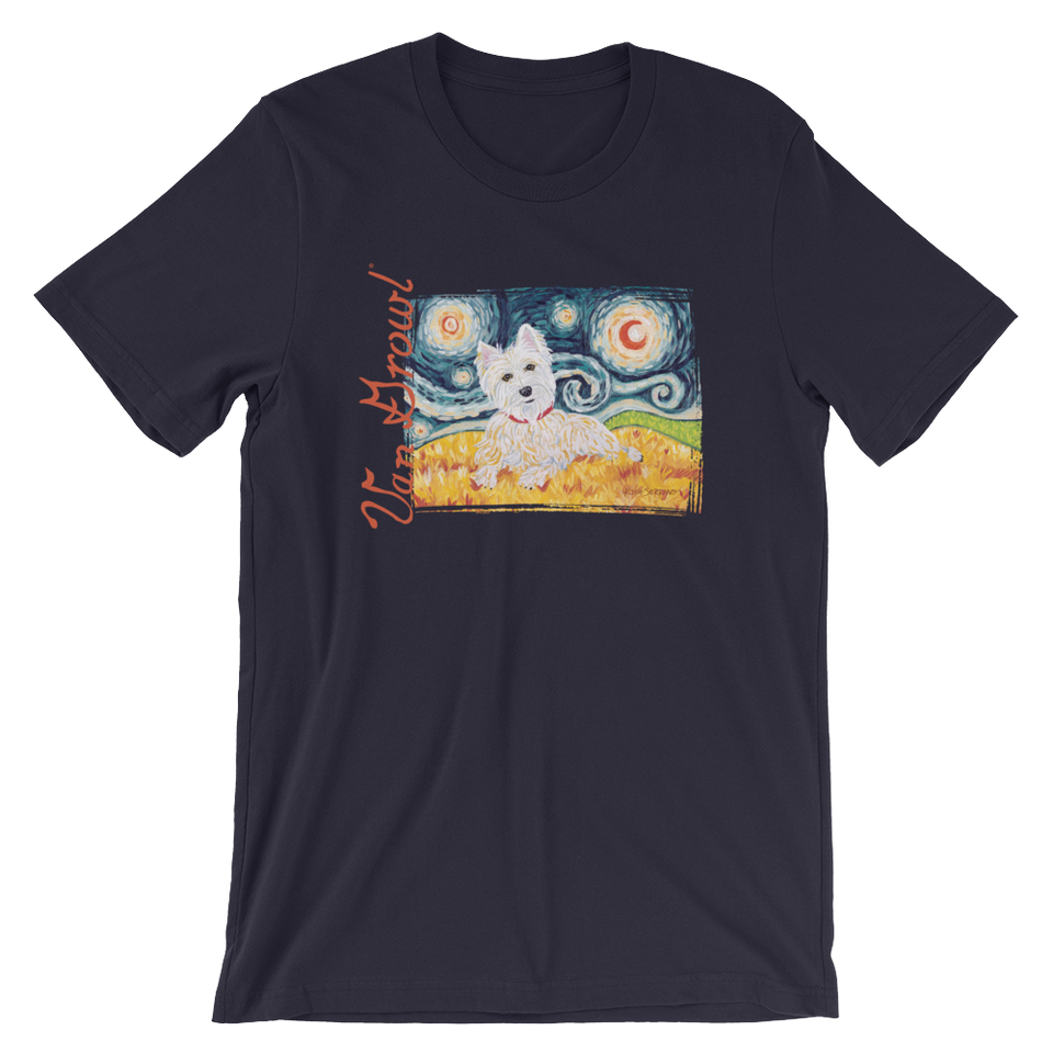 Westie STARRY NIGHT T-Shirt