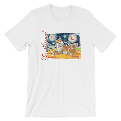 Shiba Inu (red) STARRY NIGHT T-Shirt
