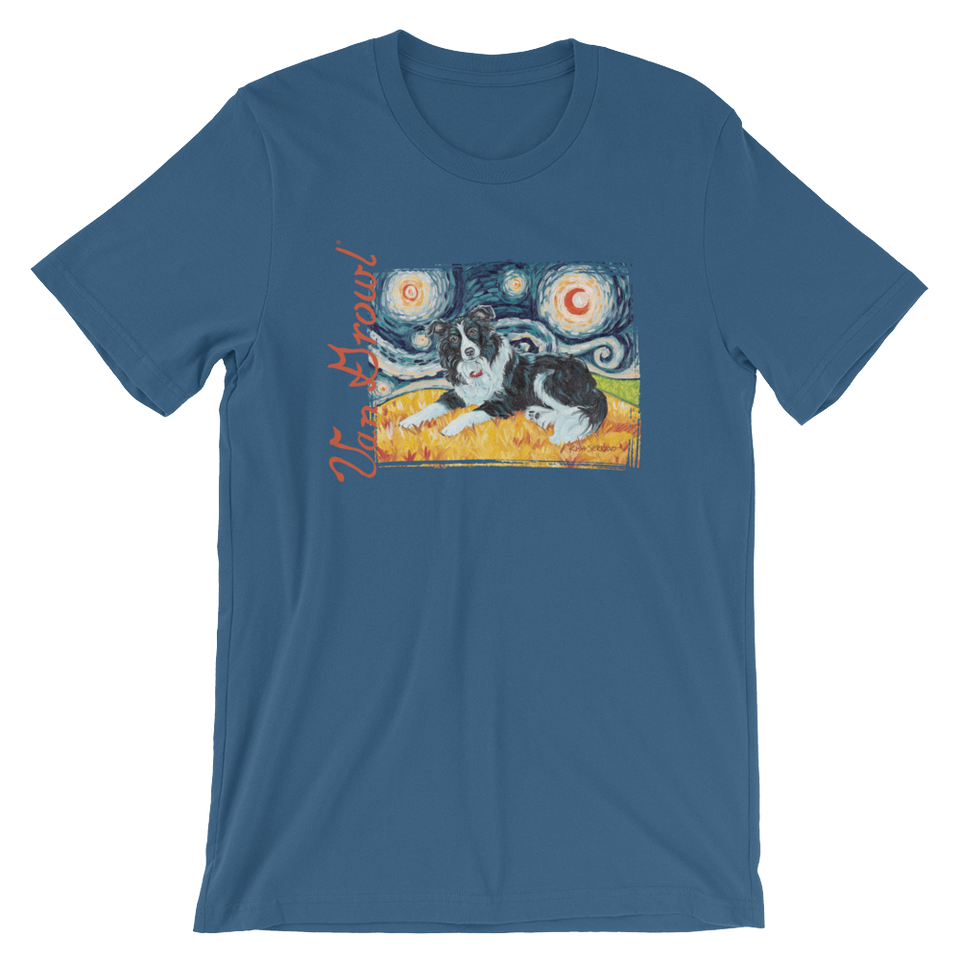 Border Collie STARRY NIGHT T-Shirt